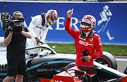 August 31, 2019, Spa-Francorchamps, Belgium: Motorsports: FIA Formula One World Championship 2019, Grand Prix of Belgium, ..#16 Charles Leclerc (MCO, Scuderia Ferrari Mission Winnow) (Credit Image: © Hoch Zwei via ZUMA Wire)