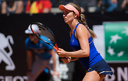 May 16, 2019 - Rome, ITALY - Danielle Collins of the United States in action during her second-round match at the 2019 Internazionali BNL d'Italia WTA Premier 5 tennis tournament (Credit Image: © AFP7 via ZUMA Wire)