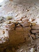 Photograph from the Eagles Nest Ruin, on Comb Ridge, San Juan County, near Bluff, Utah, USA.