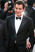 Actor Clive Owen.at the Blood Ties film gala screening at the Cannes Film Festival Monday 20th May 2013
