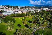 France, Martinique, Fort-de-France, centre ville, parc la Savane // France, West Indies, Martinique, Fort-de-France, la Savane park