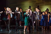 Alex Richardson as Alfredo in Verdi'a La Traviata in the Philharmonia Orchestra's production at the Rose Theater at Jazz at Lincoln Center.