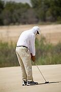 Abu Dhabi, United Arab Emirates (UAE). .March 20th 2009..Al Ghazal Golf Club..36th Abu Dhabi Men's Open Championship..Riad Majali