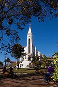 Sao Gotardo_MG, Brasil...Igreja Matriz de Sao Sebastiao em Sao Gotardo...Sao Sebastiao church in Sao Gotardo...Foto: MARCUS DESIMONI / NITRO.