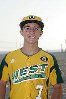 26 September 2011:  #7 Steven Kotkosky 2011 Little League Baseball World Series Championship team portrait northside of the Huntington Beach Pier at sunset in Southern California.  Ocean View team WEST beat Hamamtsu City, Japan, 2-1, to become the seventh team from California to win the title on August 28, 2011 in South Williamsport, PA.