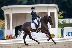 Tecsy-Papp Gabriella, HUN, Barrosa Noir<br /> WK Young Horses Verden 2021<br /> © Hippo Foto - Dirk Caremans<br /> 25/08/2021