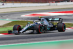 May 11, 2019 - Barcelona, Catalonia, Spain - Mercedes driver Valtteri Bottas (77) of Finland during F1 Grand Prix qualifying celebrated at Circuit of Barcelona 11th May 2019 in Barcelona, Spain. (Credit Image: © Mikel Trigueros/NurPhoto via ZUMA Press)