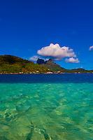 Bora Bora, Society Islands, French Polynesia.
