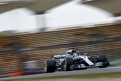 April 13, 2018 - Shanghai, China - #44 Lewis Hamilton (GBR, Mercedes AMG Petronas F1 Team) at Chinese Formula One Grand Prix Shanghai Circuit. (Credit Image: © Hoch Zwei via ZUMA Wire)
