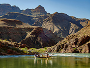 Day 16 of 16 days rafting 226 miles down the Colorado River in Grand Canyon National Park, Arizona, USA.