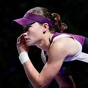 Australian Samantha Stosur during their TEB BNP Paribas WTA Championships at Sinan Erdem Arena in Istanbul Turkey on Tuesday, 29 October 2011. Photo by TURKPIX
