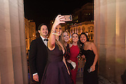 JAMES WILLIAMS; CARMEN GODDIN;  MEGHAN CONROY; MADELEINE BLACKMAN; JULIETTE KIM, South Carolina Inauguration Ball. National portrait gallery and Smithsonian. Washington. 19 January 2017