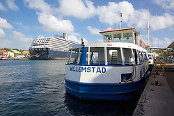 View Of Ferry & Cruise Ship