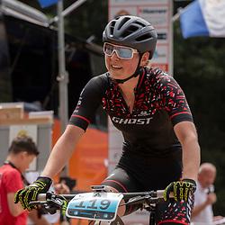 22-07-2018: Mountainbike: NK Mounainbike: Apeldoorn<br /> Anne Terpstra, Nederlands Kampioen MTB