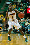 WACO, TX - DECEMBER 18: Kenny Chery #1 of the Baylor Bears brings the ball up court against the Northwestern State Demons on December 18 at the Ferrell Center in Waco, Texas.  (Photo by Cooper Neill) *** Local Caption *** Kenny Chery