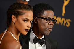 Megalyn Echikunwoke and Chris Rock attend the 68th Annual Primetime Emmy Awards at Microsoft Theater on September 18, 2016 in Los Angeles, CA, USA. Photo by Lionel Hahn/ABACAPRESS.COM