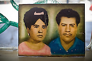"Mexican family. Near Niland, California...Images to illustrate the road and the people you meet along the way on a trip across the USA...A 4-weeks road trip across the USA, from New York to San Francisco, on the steps of Jack Kerouac's famous book ""On the Road"".  Focusing on nomadic America: people that live on the move across the US, out of ideology or for work reasons."