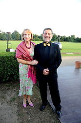 JOE & BERNADETTE KEEFE at the annual Ham Polo Club Summer Ball held at the club, Petersham Road, Richmond, Surrey on 25th July 2008.<br /> <br /> NON EXCLUSIVE - WORLD RIGHTS