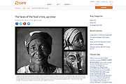 2012 06 14 Tearsheet CARE The faces of the food crisis Sahel Niger