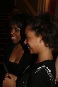 Trisha  and Madi Goddard, Dirty Dancing ,premiere: Aldwych Theatre, 49 Aldwych, London, WC2,24 October 2006. -DO NOT ARCHIVE-© Copyright Photograph by Dafydd Jones 66 Stockwell Park Rd. London SW9 0DA Tel 020 7733 0108 www.dafjones.com