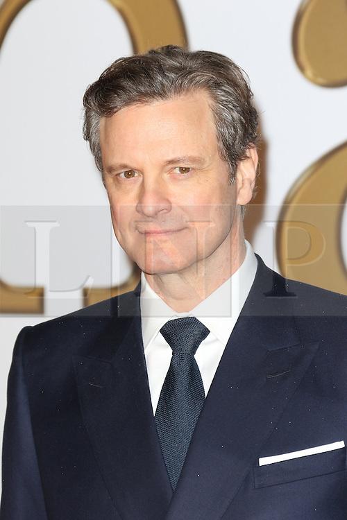 © Licensed to London News Pictures. 14/01/2015, UK. Colin Firth, Kingsman: The Secret Service - World Film Premiere, Leicester Square, London UK, 14 January 2015, Photo credit : Richard Goldschmidt/Piqtured/LNP