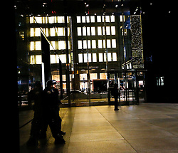 The courtyard of the Trump Tower, while President elect Donald Trump is holding meetings on top floors of the building, November 21, 2016, in New York, NY. (Aude Guerrucci / Pool)