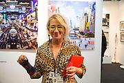 CYNTHIA CORBETT, Preview for the London Art Fair,  Islington Business Design Centre. London. 13 January 2014