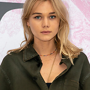 Emmy Waterhouse arrives at V&A - summer party, on 19 June 2019, London, UK