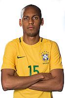 """Football Conmebol_Concacaf - <br />Copa America Centenario Usa 2016 - <br />Brazil National Team - Group B - <br />Fábio Henrique Tavares """" Fábinho """""""
