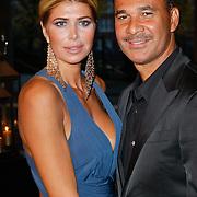 NLD/Amsterdam/20111029- JFK Greatest Man Award 2011, Estelle Gullit - Cruijff en partner Ruud Gullit