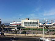 Israel, Port of Haifa,