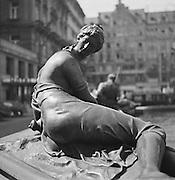 Donner fountain, Vienna, Austria, 1938