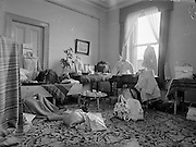 Italian Group & Irish Settings trade display at Switzers, Grafton Street 12th may, 1961