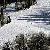 USA, Colorado, Beaver Creek. Slopes of the Beaver Creek Ski Resort.