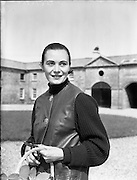 Italian–American prima ballerina and model Enrica 'Ricki' Huston (née Soma) in Co. Galway. .Ricki Huston was the mother of Anjelica Huston, fourth wife of film director, John. She died in .1969, aged 39 in a car crash in France. .23/06/1958
