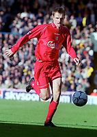 Dietmar Hamann - Liverpool. Leeds United v Liverpool. FA Premiership, 4/11/00. Credit: Colorsport / Nick Kidd.
