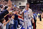 Achille Polonara<br /> Banco di Sardegna Dinamo Sassari - AX Armani Exchange Olimpia Milano<br /> LBA Serie A Postemobile 2018-2019 Playoff Semifinale Gara 3<br /> Sassari, 02/06/2019<br /> Foto L.Canu / Ciamillo-Castoria