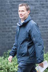 Downing Street, London, November 15th 2016.  Health Secretary Jeremy Hunt arrives in Downing Street for the weekly cabinet meeting.