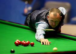 Mark Williams during day seventeen of the 2018 Betfred World Championship at The Crucible, Sheffield.