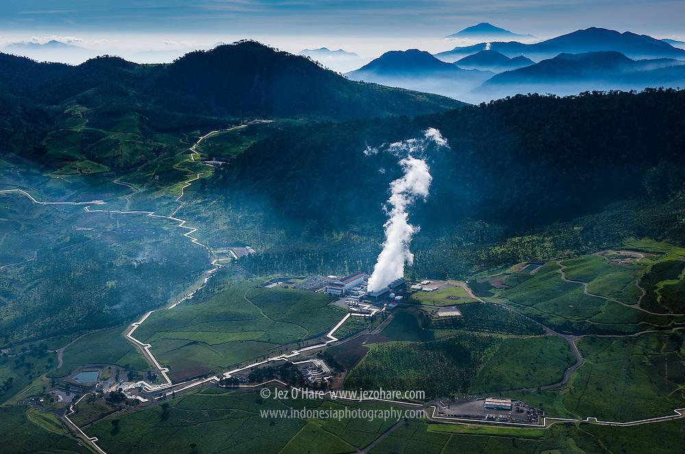 Star Energy's, Wayang Windu Geothermal Power Station, Pangalengan, West Java, Indonesia