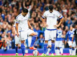 Chelsea players look dejected after conceding the third goal  - Mandatory byline: Matt McNulty/JMP - 07966386802 - 12/09/2015 - FOOTBALL - Goodison Park -Everton,England - Everton v Chelsea - Barclays Premier League