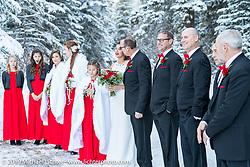 Vanessa and Brian Klock Wedding. Deadwood, USA. Friday, December 28, 2018. Photography ©2018 Michael Lichter.