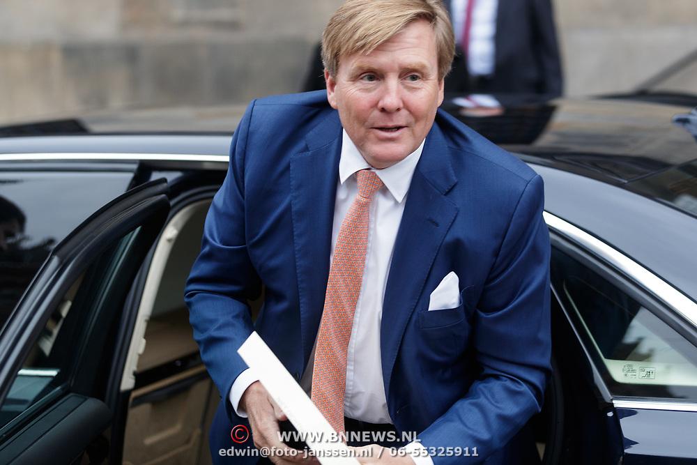 NLD/Amsterdam/20190115 - Koninklijke nieuwjaarsontvangst Nederlandse genodigden, Willem Alexander
