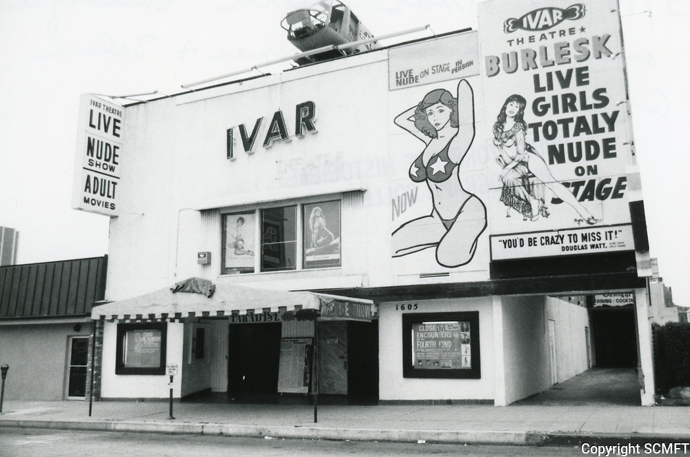 1978 Ivar Theater on Ivar St.