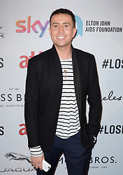Nick Grimshaw attends the Attitude Pride Awards 2016 at The Grand At Trafalgar Square, central London. Monday October 10, 2016. Photo credit should read: Isabel Infantes / EMPICS Entertainment.