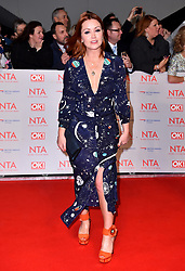 Arielle Free attending the National Television Awards 2018 held at the O2 Arena, London. PRESS ASSOCIATION Photo. Picture date: Tuesday January 23, 2018. See PA story SHOWBIZ NTAs. Photo credit should read: Matt Crossick/PA Wire