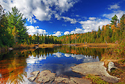 A dreamy afternoon at the lake, Parc de la Mauricie, Quebec, Canada