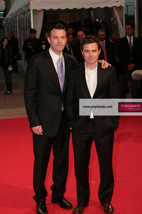 Ben Affleck - Casey Affleck - 33 ème Festival du Film Américain - Deauville - 5/09/2007 - JSB / PixPlanete
