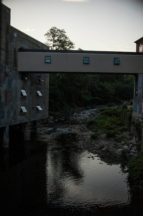 """Photo by Matt Roth<br /> <br /> The Neighborhood Design Center hosted """"Home Grown"""" an evening soiree above the Jones Falls Stream at Mill No. 1, in Hampden with music from Caleb Stine and food and adult beverage from Clementine, and New Waverly brewery in Baltimore, Maryland on Thursday, May 30, 2013."""