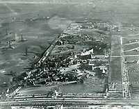 1928 Aerial photo looking south at Fox Movietone Studios in West Los Angeles